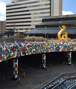 """Paint the Town"" Mural Project Bethesda Metro Center"